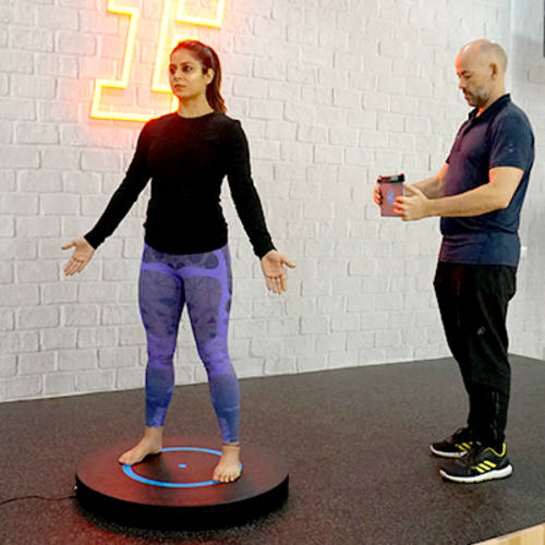 3D body Scanner by Fitness First